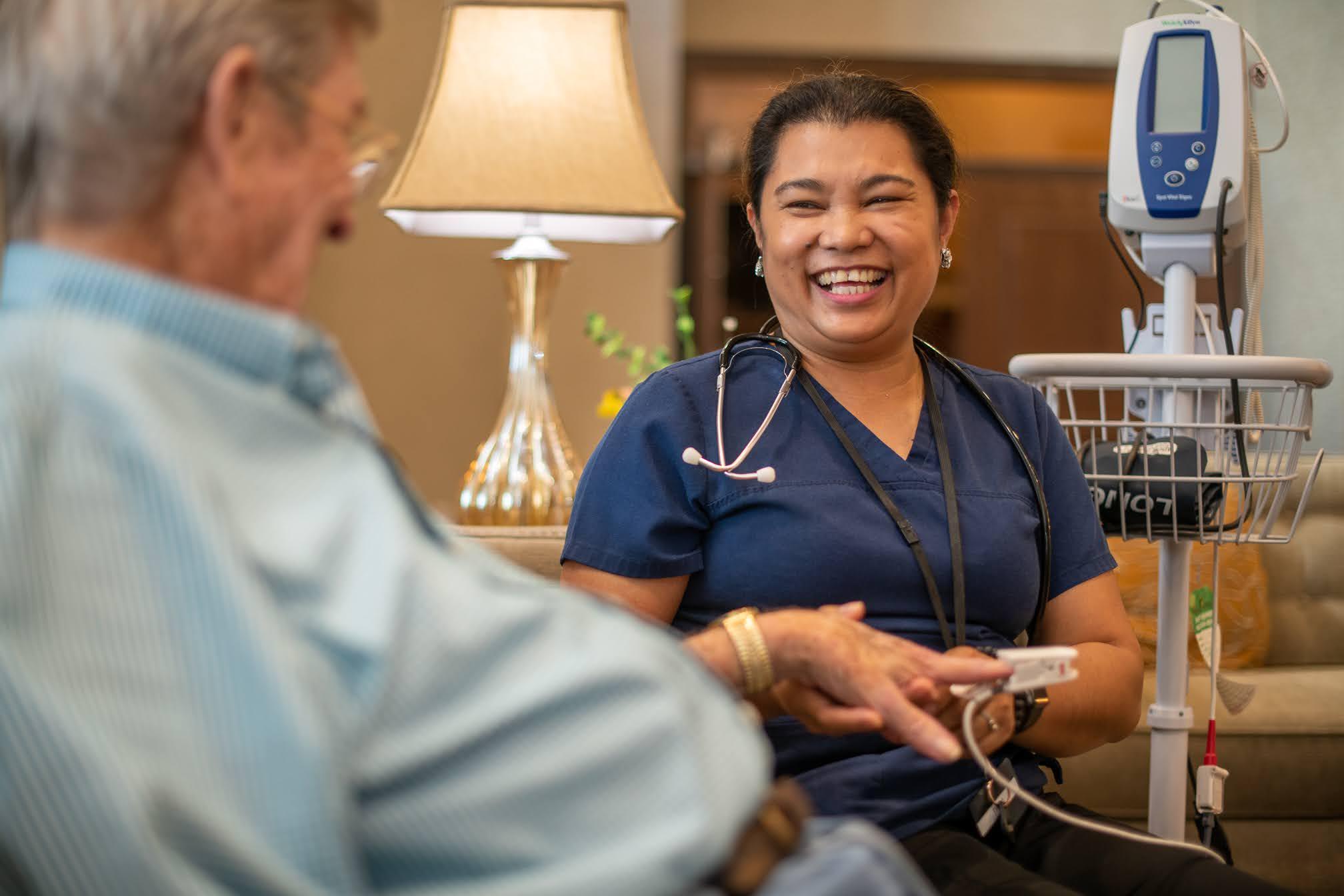 Caregiving Services in Maple Grove