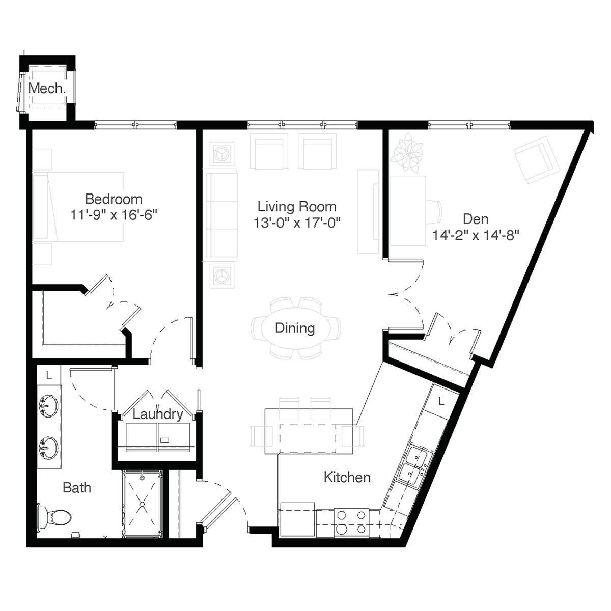 SilverCreek Apartment Floor Plans