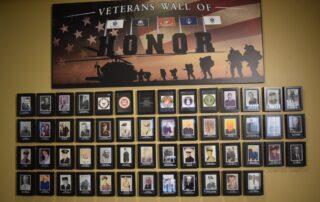 Veterans Wall of Honor at SilverCreek