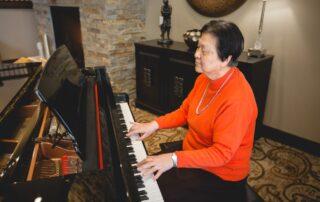 Silver Creek Living Room Grand Piano